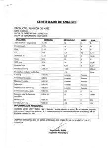 ALMIDON DE MAIZ -Lote 1183565 001