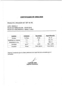 Creolina - Lote 050516-2 001
