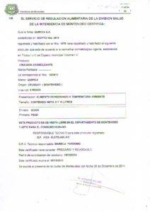 REGISTRO IMM 1075-11 - DESMOLDANTE