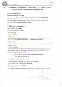 REGISTRO IMM 1075-59 - CMC F1 4000 XS