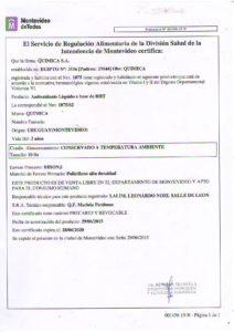 REGISTRO IMM 1075-62 - BHT LIQUIDO
